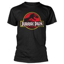 Jurassic Park 'Logo' (Black) T-Shirt