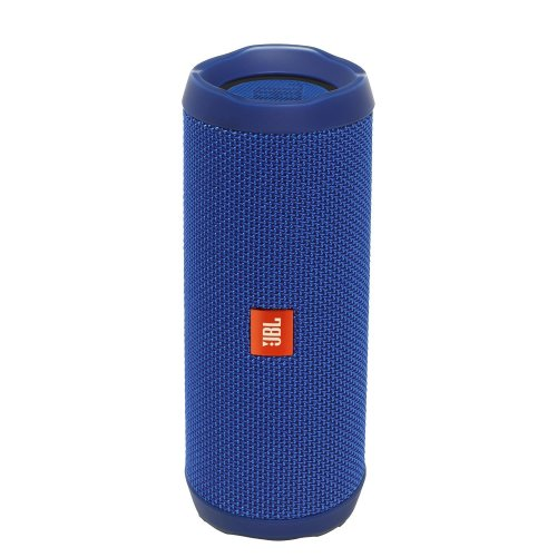 JBL Flip 4 Portable Bluetooth Speaker - Blue | Portable Waterproof Speaker