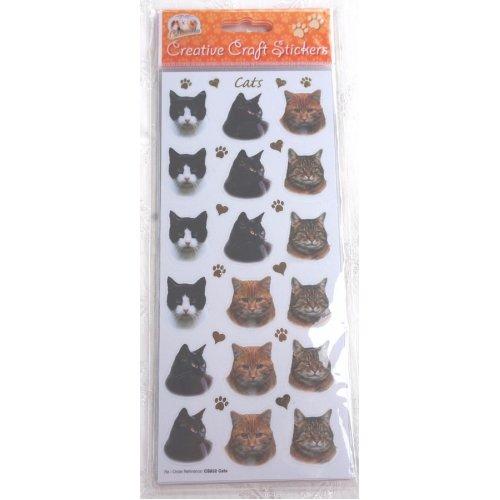 Cat craft stickers