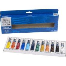 Winsor & Newton Cotman Watercolour 12x8ml Tube Set