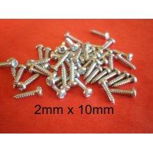 2mm x 10mm Self Tapping Screws Servo Screws x 50pcs