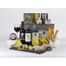 Luxury Cheese & Wine Hamper - Cheese Lovers Choice