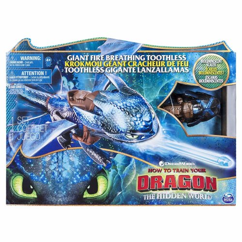 DreamWorks How To Train Your Dragon - Giant Fire Breathing Toothless