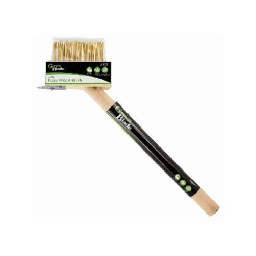2 in 1 Weed Brush Patio Wire Broom Weed Moss Removal Tool Wooden Handle