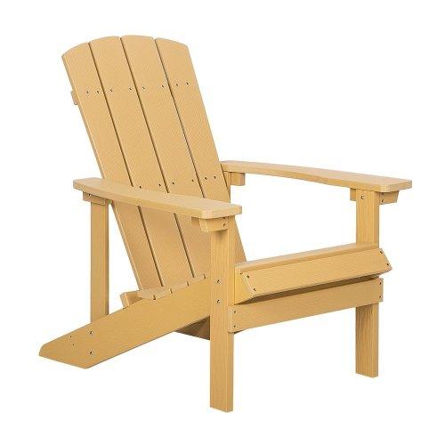 Garden Chair Yellow ADIRONDACK