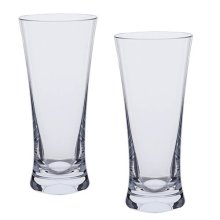 Dartington Bar Excellence Beer Glass, Clear, Pack of 2