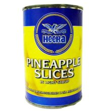 Heera - Pineapple Slices in Light Syrup - 425g (pack of 3)