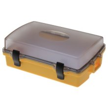 Witz Utility Locker I Clear Lid Waterproof Case Yellow