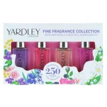 Yardley London Fine Fragrance Collection Minature Set 4 Pack