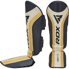 RDX Shin Guards for Kickboxing, MMA, Muay Thai Training and Fighting, - Used