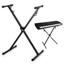 Electronic X Piano Music Keyboard Portable Rack Adjustable Height
