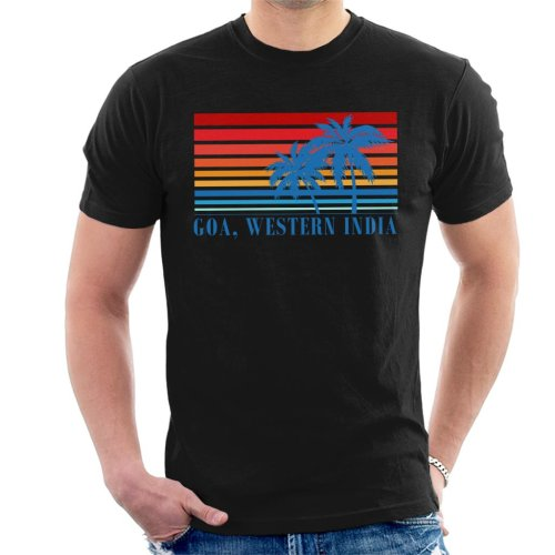 Goa Western India Palm Trees Men's T-Shirt