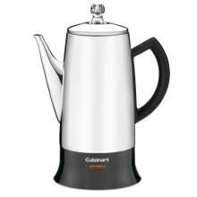 Cuisinart PRC-12 Classic 12-Cup Stainless-Steel Percolator Black/Stainless