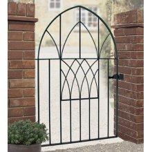 Abbey Modern Low Bow Garden Gates galvanised metal