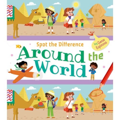 Spot the Difference Around the World by Espinosa & Genie