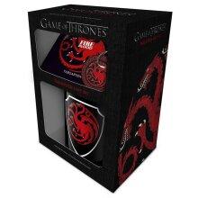 Game of Thrones Targaryen Mug and Coaster Set