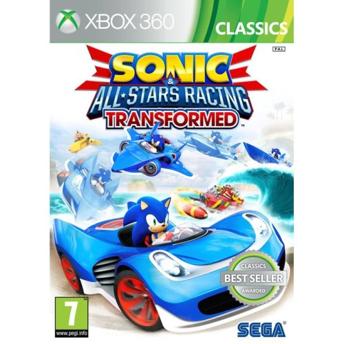 Sonic and All Stars Racing Transformed Classics Xbox 360