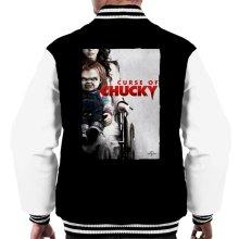 Chucky Curse Of Chucky Poster Men's Varsity Jacket