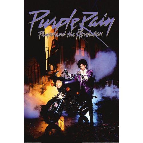 "Poster - Studio B - Prince - Purple Rain 36x24"" Wall Art P4421"