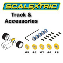 Scalextric Accessories - Pack of 5 Asst Contrate Gears