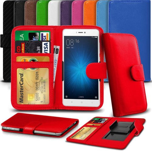"""iTronixs - BLU Studio G HD LTE (5"""") High Quality Clamp Style PU Leather Wallet Case Cover"""