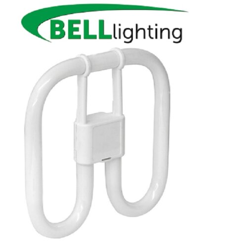 Bell 16w/2pin 2D CFL Square GR8 White  1050lm