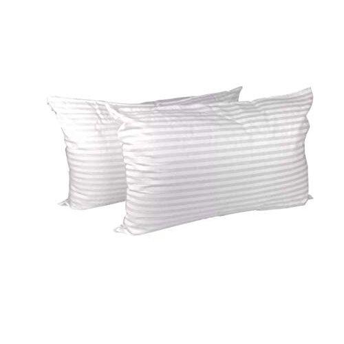 R&G PILLOWS HOTEL QUALITY PILLOWS HOLLOW FIBRE BOUNCE BACK PILLOW BEDDING BED NEW (4)