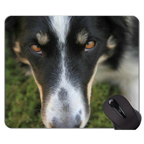 German Shepherd Dog Funny Dog Lover Mouse Pads,Dog Mouse Pad With Stitched Edges