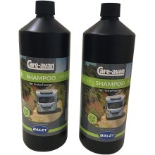 Motorhome Shampoo 1 Ltr Highly Concentrated - Endorsed by Bailey (2 Pack)