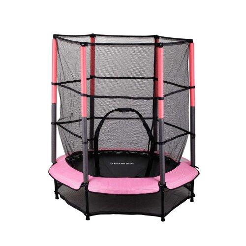 GALACTICA Childrens Mini Trampoline - Pink