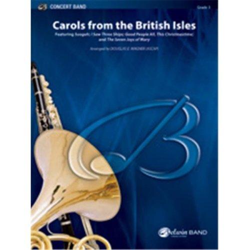 Alfred 00-39540 CAROLS FROM THE BRITISH ISLES-BCB 3