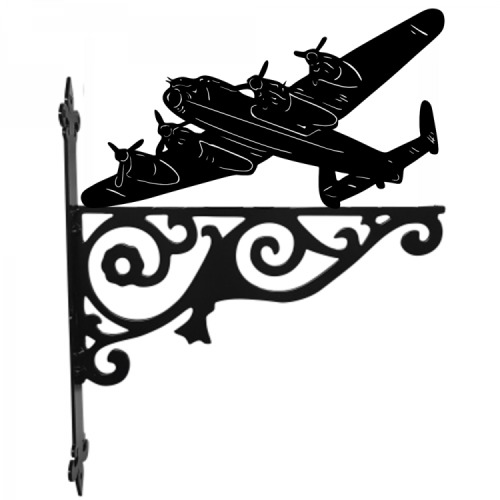 Lancaster Bomber Ornamental Hanging Metal Bracket