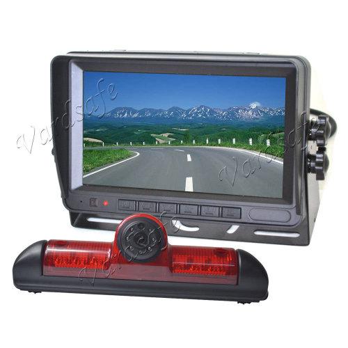 "Vardsafe Reverse Parking camera + 7"" Self Standing Rear View Monitor for Fiat Ducato / Peugeot Boxer / Citroen Jumper"
