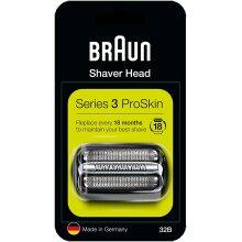 Braun Series 3 32B Electric Shaver Head Replacement - Black - COM32B
