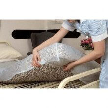 Fitted Double Waterproof Mattress Protector