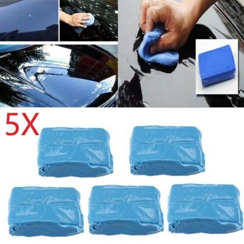 5x Clay Detailing Bar Car Valeting Auto Cleaning Magic Wax Wash Sponge