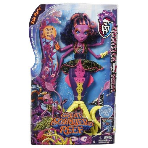 Monster High Great Scarrier Reef Kala Mer'ri Doll