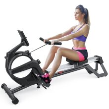 YOLEO Magnetic Rowing Machine for Home Use with 15 Resistance levels