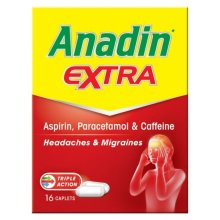 Anadin Extra Caplets 16 Tablets