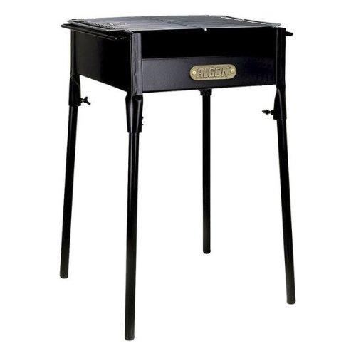 Charcoal Barbecue with Stand Algon Black (40 X 34 x 62 cm)