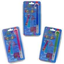 Rainbow Loom Metal Hook Tool Upgrade Kit - 3 Pack (Pink, Blue and Green)
