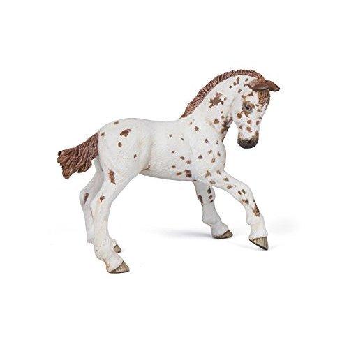 """Papo """"Appaloosa Foal Brown"""" Figure"""