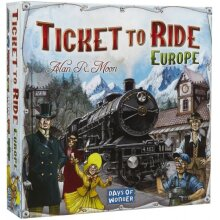 board game Ticket to Ride - Europe