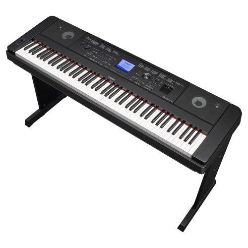 Yamaha DGX-660 Digital Piano with Accompaniment, Black