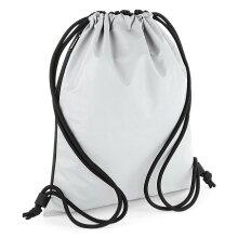 BagBase Reflective Gymsac Cycling Walking School Sports Football Drawstring Bag