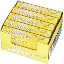 Halls Soothers Honey and Lemon Pack of 20