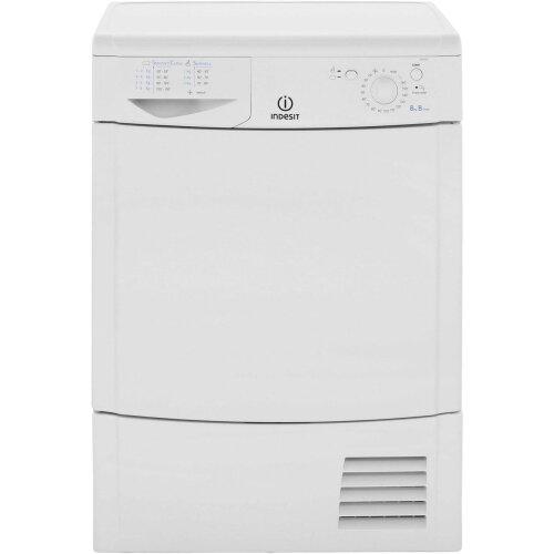 Indesit Eco Time IDC8T3B 8Kg Condenser Tumble Dryer - White