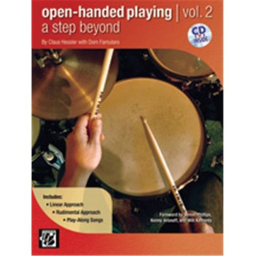 Alfred 00-38832 OPEN HANDED PLAYING:STEP BYND-BK&CD