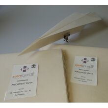 Rosin Release Parchment Paper Folded Sheets