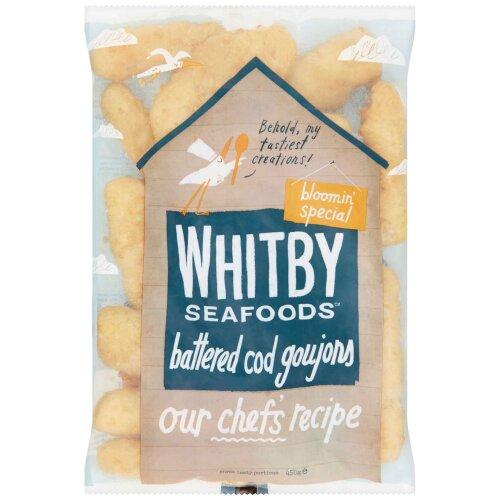 Whitby Frozen MSC Battered Cod Goujons - 1x450g